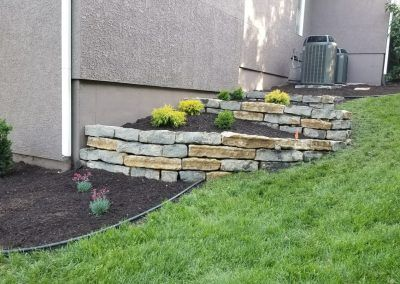Residential Landscape Improvement at Overland Park