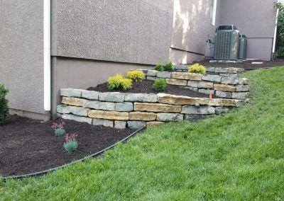 Residential Landscape Improvement at Overland Park